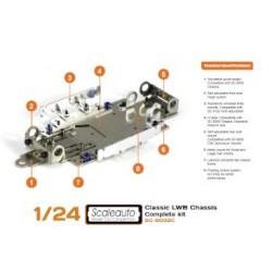 Classic Scaleauto Chassis Complete LWB